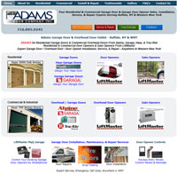 Adams Door Company, Inc. e-Business Website