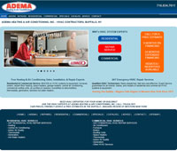 Adema Heating & Air Conditioning, Inc. e-Business Website