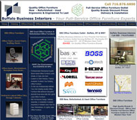 Buffalo Business Interiors, Inc. e-Business Website