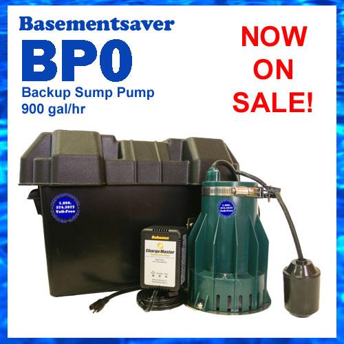 backup pumps basementsaver bp0 battery backup pump