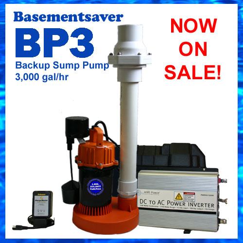 sump pit backup sump pump bp3 heavy duty battery backup pumps