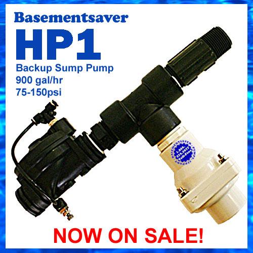 HP1 Advanced Backup Pump
