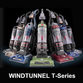 Hoover Windtunnel T Series Upright Vacuum Cleaners