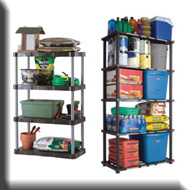 Rubbermaid Garage Storage Shelves