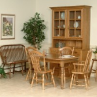 Mennonite Furniture Studios Amish Made Dining Chairs U0026 Table