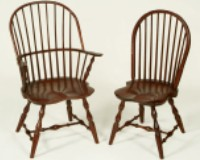 Amish u0026 Mennonite Heirloom Furniture Sack Back Windsor Chair u0026 Bow Back Windsor Chair & Mennonite Furniture Studios - Dining Chairs