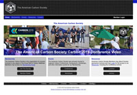 American Carbon Society e-Business Website