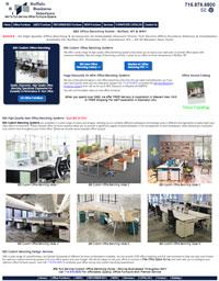 BBI New, Refurbished, & Used Office Furniture In Buffalo, NY - 1stFlash Responsive Website Design