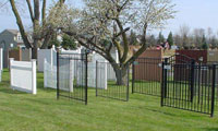 City Fence Fence Display Yard
