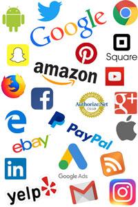 Web Marketing Portals & Technologies Logos