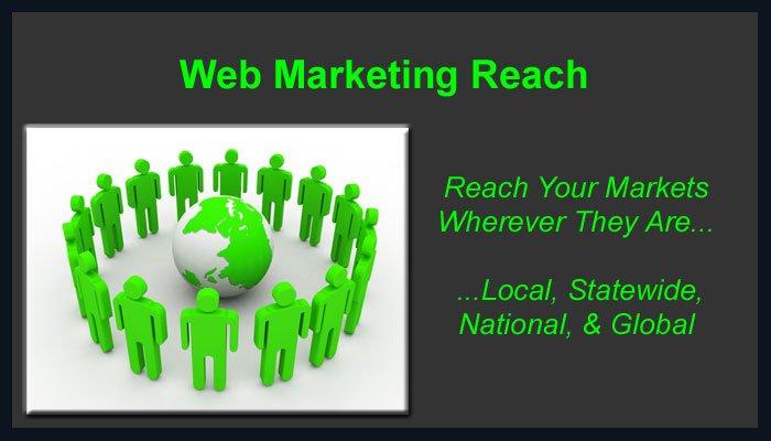 1stFlash Web Marketing Reach Local - National - Global